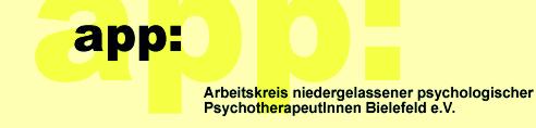Arbeitskreis niedergelassener psychologischer PsychotherapeutInnen Bielefeld e.V.